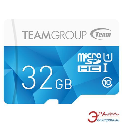 Карта памяти Team 32Gb microSD Class 10 UHS-I Color Blue (TCUSDH32GUHS02)