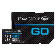 Карта памяти Team 32Gb microSD Class 10 UHS-I/U3 Go + SD-adapter (TGUSDH32GU303)