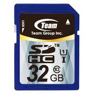 Карта памяти Team 32Gb SD Class 10 UHS-I (TSDHC32GUHS01)