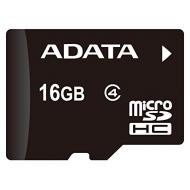 Карта памяти A-DATA 16Gb microSD Class 4 + SD-adapter (AUSDH16GCL4-RA1)