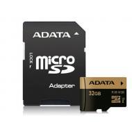 Карта памяти A-DATA 32Gb microSD Class 10 UHS-I U3 + SD-adapter (AUSDH32GXUI3-RA1)