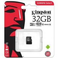 Карта памяти Kingston 32Gb microSD Class 10 UHS-I R80MB/s (SDCS/32GBSP)