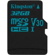 Карта памяти Kingston 32Gb microSD Class 10 UHS-I U3 R90/W45MB/s Canvas Go (SDCG2/32GBSP)