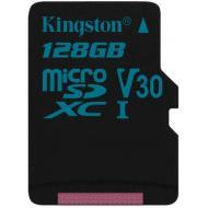 Карта памяти Kingston 128Gb microSD Class 10 UHS-I U3 R90/W45MB/s Canvas Go (SDCG2/128GBSP)