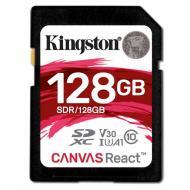 Карта памяти Kingston 128Gb SD Class 10 UHS-I U3 R100/W80MB/s (SDR/128GB)