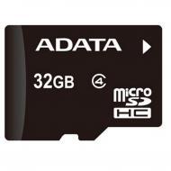 Карта памяти A-DATA 32Gb microSD Class 4 (AUSDH32GCL4-R)