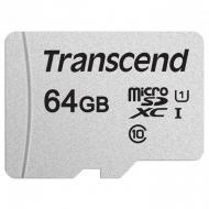 Карта памяти Transcend 64Gb microSD Class 10 300S UHS-I UI (TS64GUSD300S)
