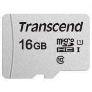 Карта памяти Transcend 16Gb microSD Class 10 300S UHS-I UI (TS16GUSD300S)