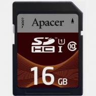 Карта памяти Apacer 16Gb SD Class 10 RP (AP16GSDHC10U1-R)