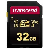 Карта памяти Transcend 32Gb SD Class 10 700S MLC UHS-II U3 V30 (R285/W180) (TS32GSDC700S)