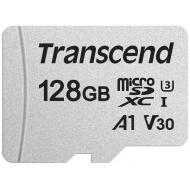 Карта памяти Transcend 128Gb microSD Class 10 300S UHS-I U3 (TS128GUSD300S)