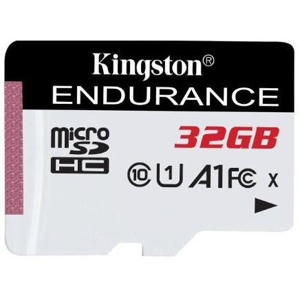 Карта памяти Kingston 32Gb microSD Class 10 UHS-I R90/W45MB/s High Endurance (SDCE/32GB)