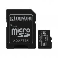 Карта памяти Kingston 32Gb microSD Class 10 UHS-I R100MB/s Canvas Select Plus + SD (SDCS2/32GB)