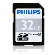 Карта памяти Philips 32Gb SD Class 10 (FM32SD45B/97)