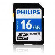 Карта памяти Philips 16Gb SD Class 10 (FM16SD45B/97)