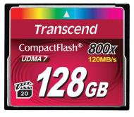 Карта памяти Transcend 128Gb Compact Flash 800x (TS128GCF800)