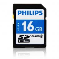 Карта памяти Philips 16Gb SD Class 4 (FM16SD35B/97)