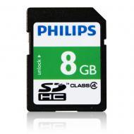 Карта памяти Philips 8Gb SD Class 4 (FM08SD35B/97)