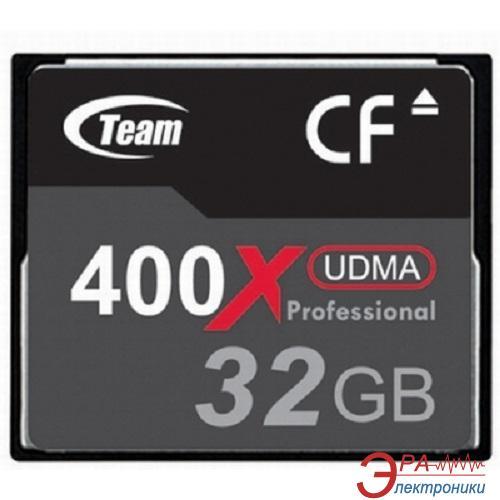 Карта памяти Team 32Gb Compact Flash 400x (TCF32G40001)