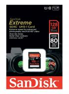 ����� ������ Sandisk 128Gb SD Class 10 Extreme Plus Class 10 UHS-I (SDSDXS-128G-X46)