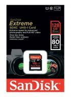 Карта памяти Sandisk 128Gb SD Class 10 Extreme Plus Class 10 UHS-I (SDSDXS-128G-X46)
