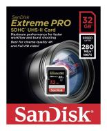 ����� ������ Sandisk 32Gb SD Class 10 ExtremePro 4K Class 10 UHS-II (SDSDXPB-032G-G46)