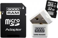 Карта памяти Goodram 32Gb microSD Class 10 3 in 1 memory RETAIL 9 (USDR432GBC10R9)