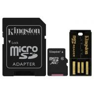 Карта памяти Kingston 64Gb microSD Class 10 Mobility Kit Gen2 (MBLY10G2/64GB)