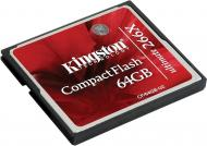 Карта памяти Kingston 64Gb Compact Flash 266x (CF/64GB-U2)