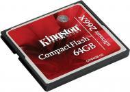 ����� ������ Kingston 64Gb Compact Flash 266x (CF/64GB-U2)
