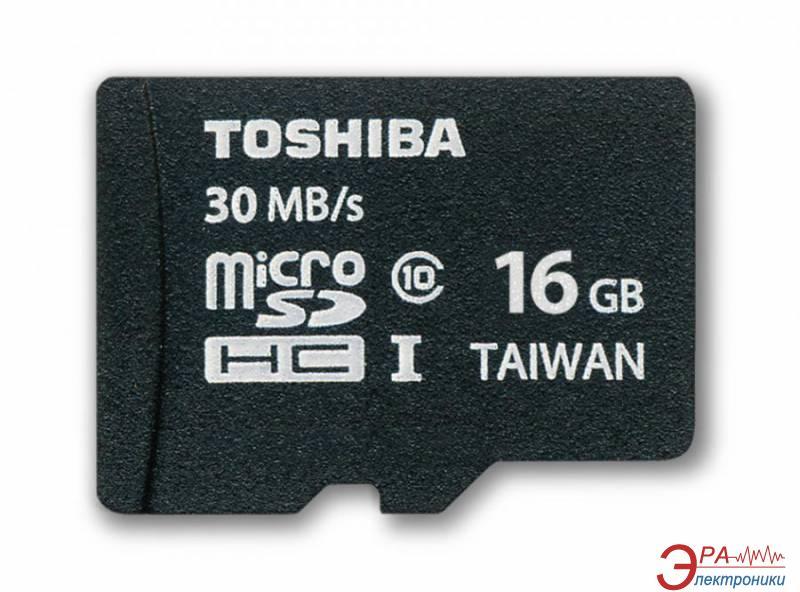 Карта памяти Toshiba 16Gb microSD Class 10 (SD-C016UHS1(6A))