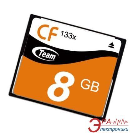 Карта памяти Team 8Gb Compact Flash 133X (TCF8G13301)