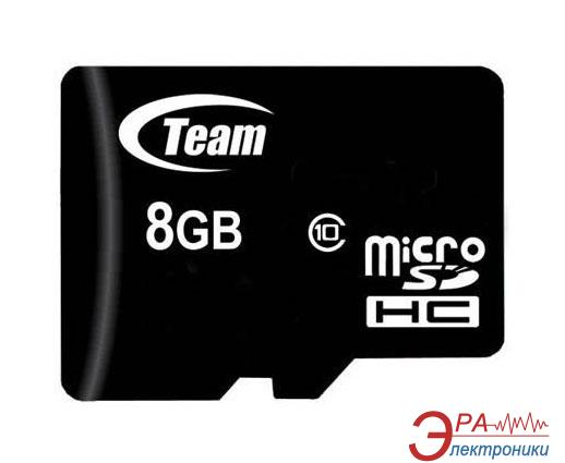 Карта памяти Team 8Gb microSD Class 10 no adapter (TUSDH8GCL1002)