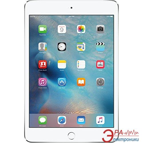 Планшет Apple A1538 iPad mini 4 Wi-Fi 16GB Silver (MK6K2RK/A)