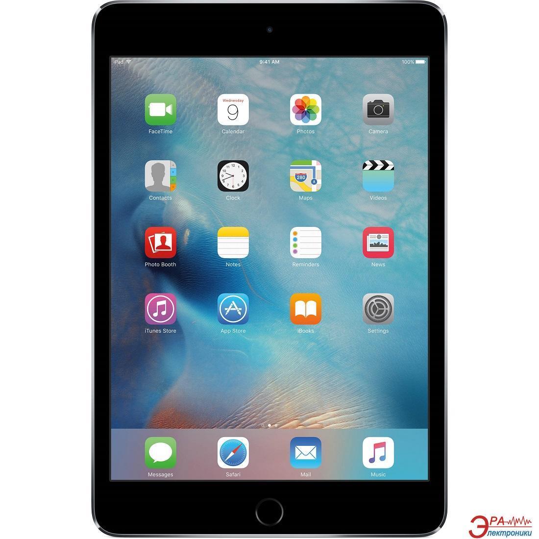 Планшет Apple A1538 iPad mini 4 Wi-Fi 16GB Space Gray (MK6J2RK/A)