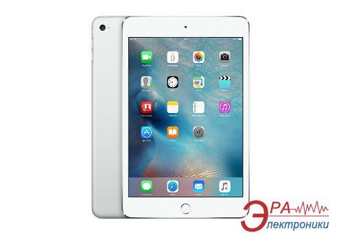 Планшет Apple A1550 iPad mini 4 Wi-Fi 4G 128Gb Silver (MK772RK/A)