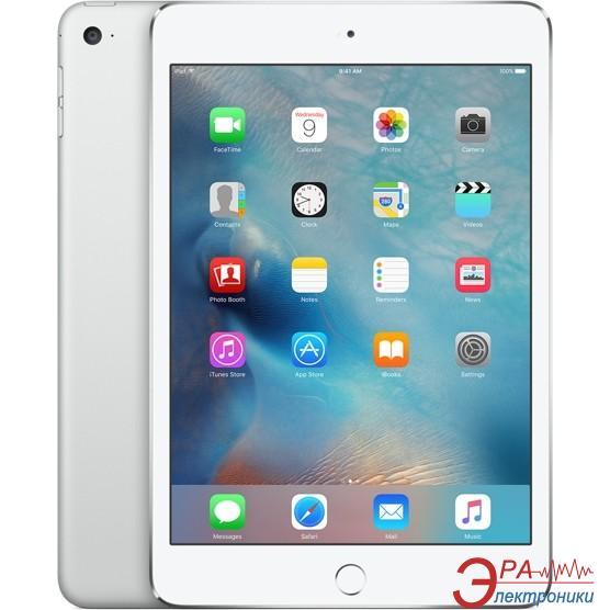 Планшет Apple A1550 iPad mini 4 Wi-Fi 4G 64Gb Silver (MK732RK/A)