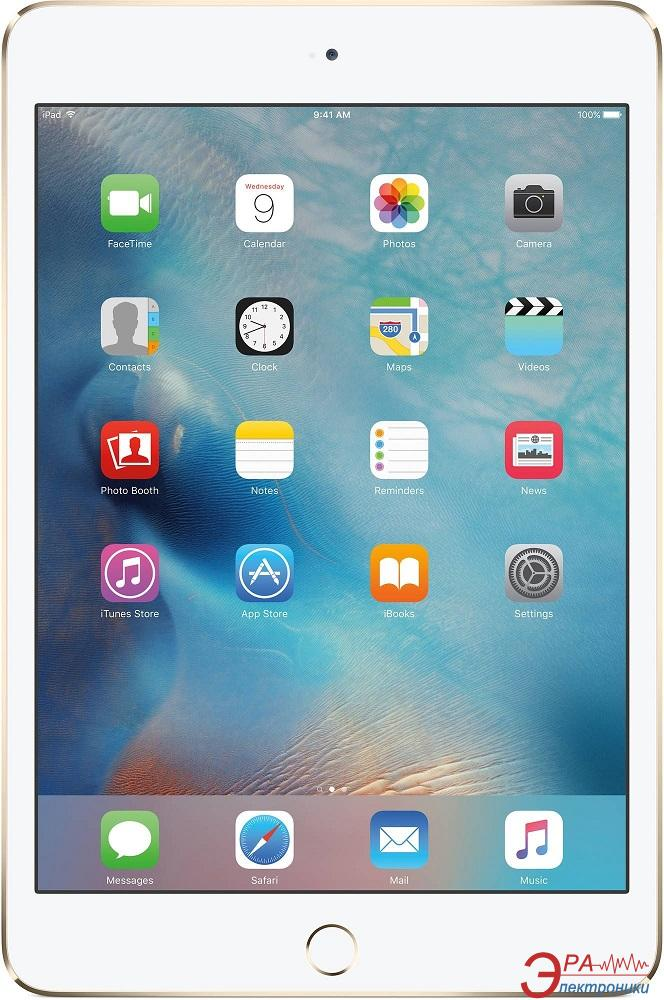 Планшет Apple A1550 iPad mini 4 Wi-Fi 4G 64Gb Gold (MK752RK/A)