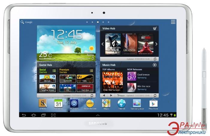 Планшет Samsung Galaxy NOTE 10.1 Pearl White (GT-N8000ZWASEK)