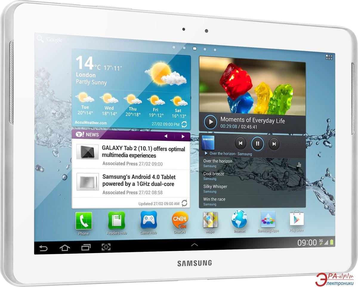 Планшет Samsung Galaxy Tab 2 10.1 32GB (GT-P5110) white (GT-P5110ZWESEK)