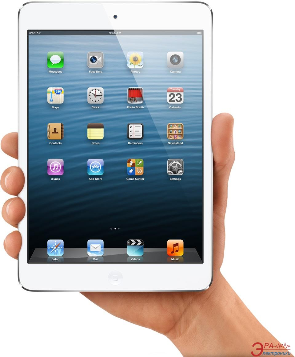 Планшет Apple A1432 iPad mini Wi-Fi 32GB (white and silver) (MD532TU/A)
