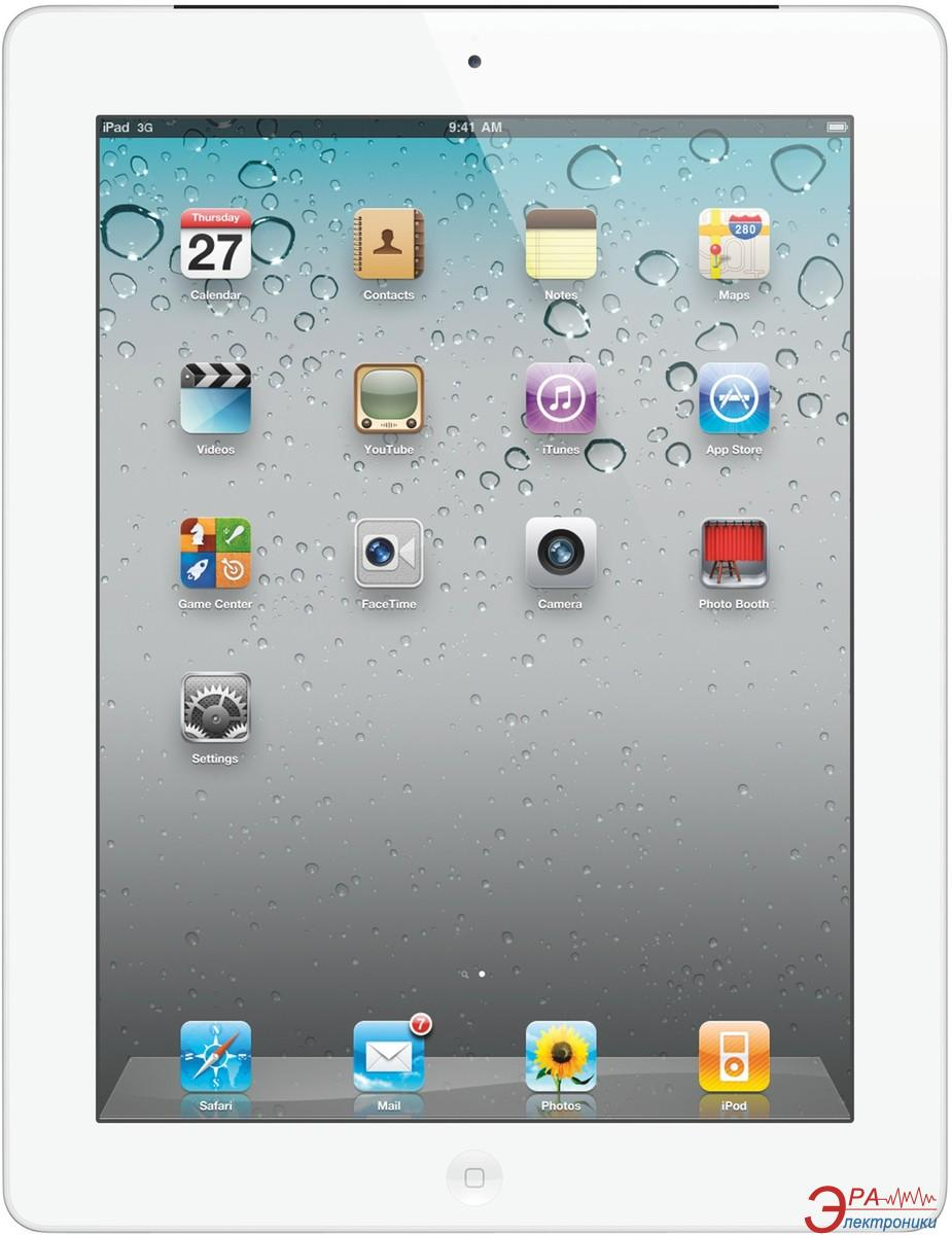 Планшет Apple A1396 iPad 2 Wi-Fi 3G 64GB (white) (MC984RS/A)