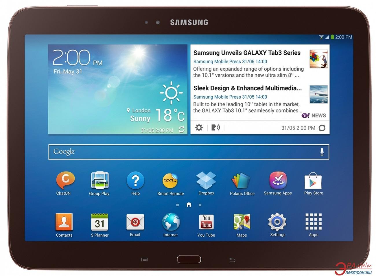 Планшет Samsung Galaxy Tab 3 10.1 Gold Brown (GT-P5210GNASEK)