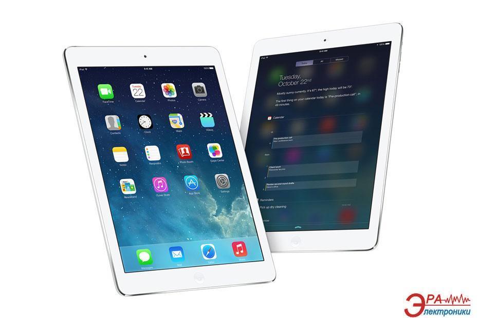 Планшет Apple A1475 iPad Air Wi-Fi 4G 128GB Silver (ME988TU/A)