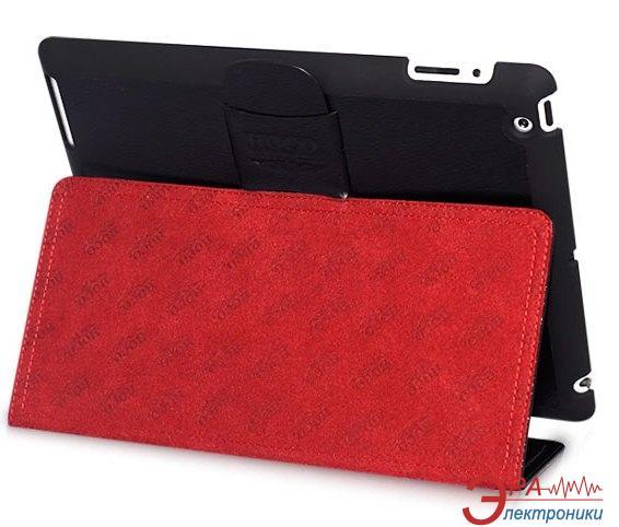 Чехол-подставка HOCO iPad 2/3/4 Fashionable leather case Black (HA-L003B)