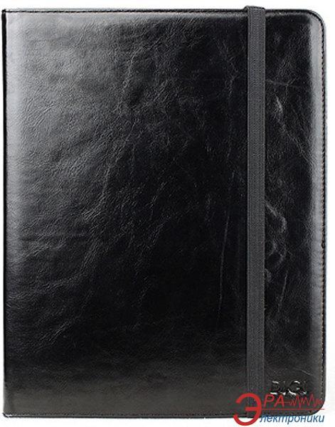 Чехол-подставка DIGI iPad - SIGNATURE Leather FOLIO Black (DIPAD 310)