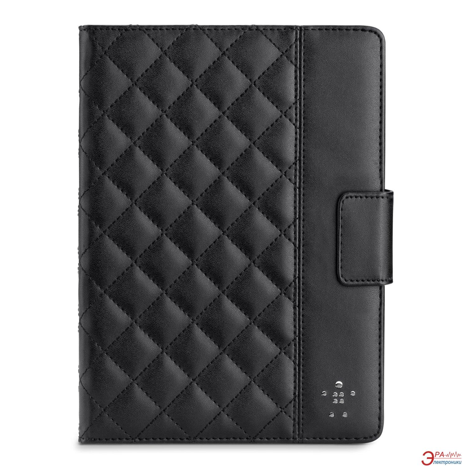 Чехол Belkin Quilted Cover for iPad Air (Black) (F7N073B2C00)