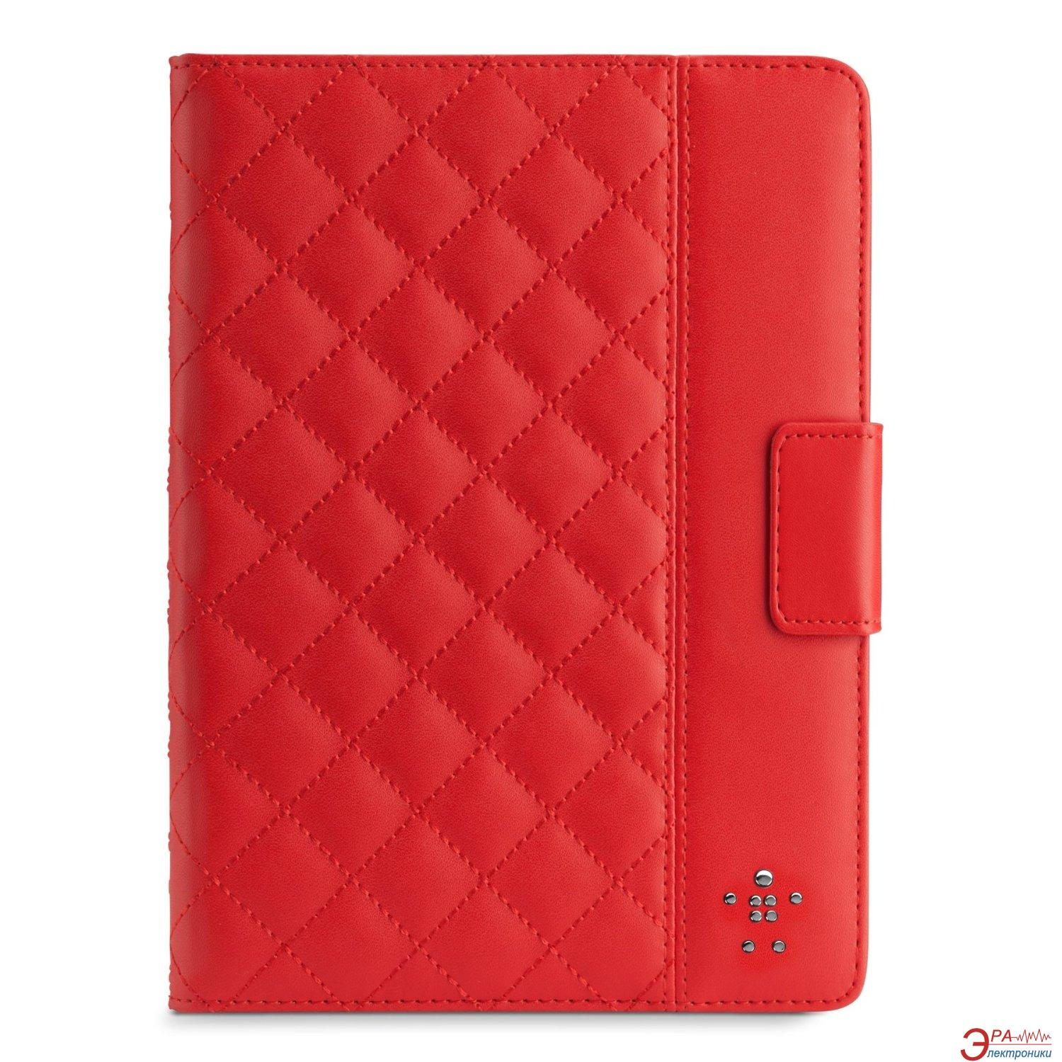 Чехол Belkin Quilted Cover for iPad Air (Ruby) (F7N073B2C02)