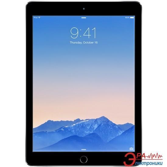 Планшет Apple A1567 iPad Air 2 Wi-Fi 4G 128Gb Space Gray (MGWL2TU/A)