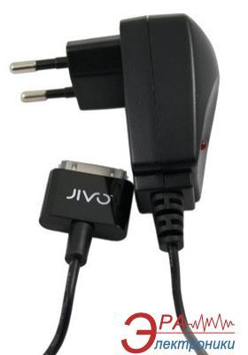 Зарядное устройство Jivo USB iPod / iPhone AC EU Black Charger (WWI) (JI-1202)